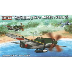Kawasaki N1K1-Ja Shiden/George First operation - 1/72 kit