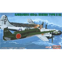 "Kawasaki N1K1-Ja Shiden/George ""Hi-tech""  - 1/72 kit"