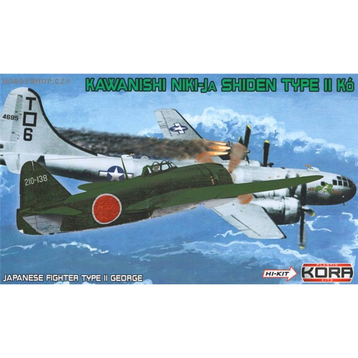 "Kawasaki N1K1-Ja Shiden/George ""Hi-tech""  - 1/72 kit"