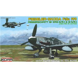 Fieseler-Skoda FiSk 199 - 1/72 kit
