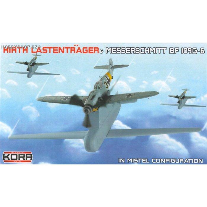 Hirth Lastenträger & Bf-109G-6 Mistel - 1/72 kit