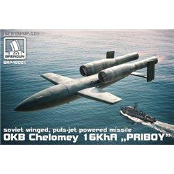 OKB Chelomey 16KhA PRIBOY missile - 1/48 kit