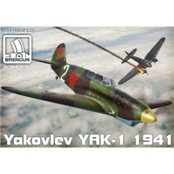 Jak-1 (mod. 1941) - 1/72 kit