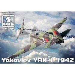 Yak-1 (mod. 1942) - 1/72 kit