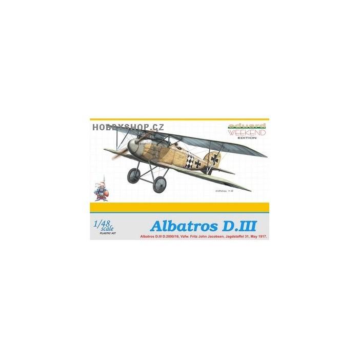 Albatros D.III Weekend - 1/48 kit