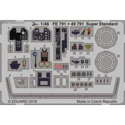 Super Etendard - 1/48 ZOOM painted PE set