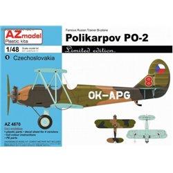 Polikarpov Po-2 Limited - 1/48 kit