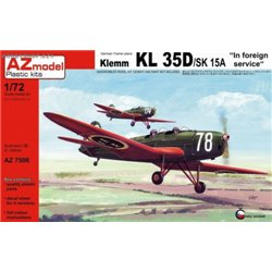 Klemm Kl 35D/SK15A In foreign service - 1/72 kit