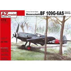 Bf 109G-6AS Special markings - 1/72 kit