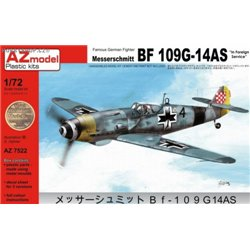 Bf 109G-14AS Foreign service - 1/72 kit