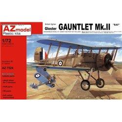 Gloster Gauntlet Mk.II RAF - 1/72 kit