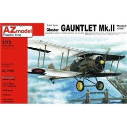 Gloster Gauntlet Mk.II Munich Crisis - 1/72 kit