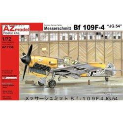 Bf 109F-4 JG.54 - 1/72 kit