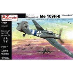 Me 109H-0 - 1/72 kit