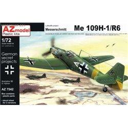 Me 109H-1/R6 - 1/72 kit