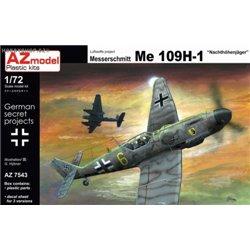 Me 109H-1 Hohenjager - 1/72 kit