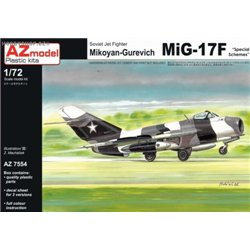 Mig-17F Civil services - 1/72 kit