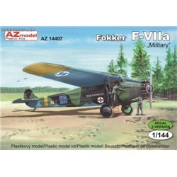 Fokker F-VIIa Military - 1/144 kit
