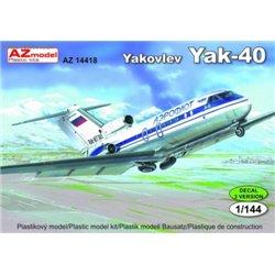 Jak-40 - 1/144 kit