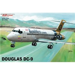 Douglas DC-9-30 Aero Colombia - 1/144 kit