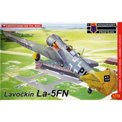 Lavočkin La-5FN Luftwaffe - 1/72 kit