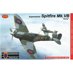 Supermarine Spitfire Mk.VB Early Cz. pilots - 1/72 kit