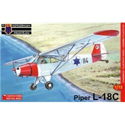 Piper PA-18C Super Cub - 1/72 kit