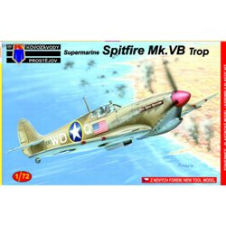 Supermarine Spitfire MK.Vb Trop - 1/72 kit