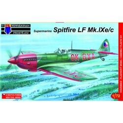 Supermarine Spitfire Mk.IXe/c - 1/72 kit
