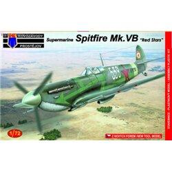 Supermarine Spitfire Mk.VB Red Stars - 1/72 kit