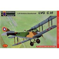 LVG C.VI CZ, USSR - 1/72 kit