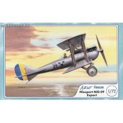 Nieuport NiD-29 Export - 1/72 kit