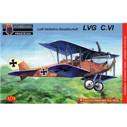 LVG C.VI Germany - 1/72 kit