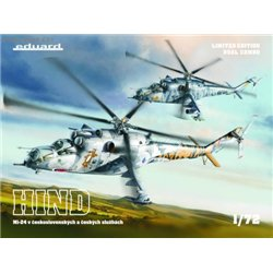 Mi-24 in Czech and Czechoslovak service DUAL COMBO 1/72 - 1/72 kit