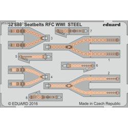 Seatbelts RFC WWI STEEL - 1/32 barevný leptaný set