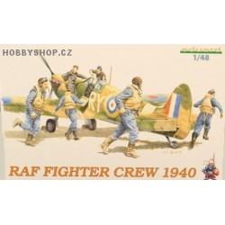 RAF FIGHTER CREW 1940 - 1/48 figures