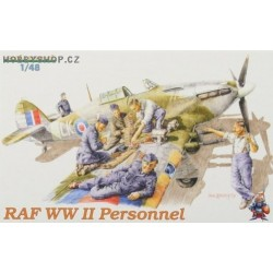 RAF WWII Personnel - 1/48 figures