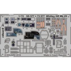 Whitley GR Mk.VII - 1/72 leptaný set