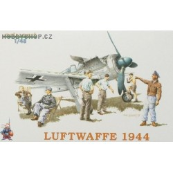 LUFTWAFFE FIGHTER CREW 1944 - 1/48 figures