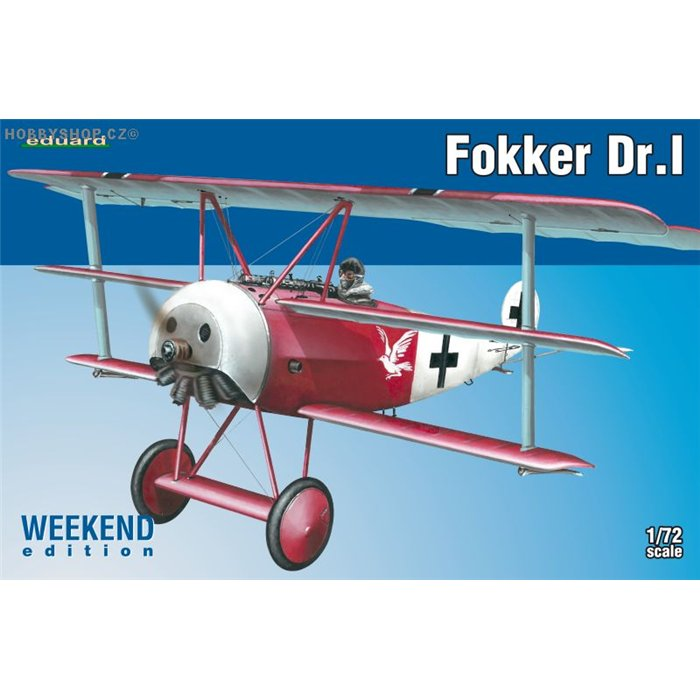Fokker Dr.I Weekend - 1/72 kit