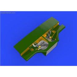 MC.202 undercarriage bay - 1/48 doplňkový set