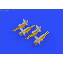 Falanga 9M17P missiles - 1/72 doplňkový set