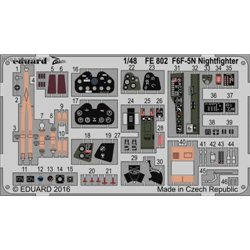 F6F-5N Nightfighter - 1/48 leptaný set