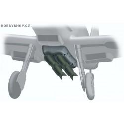 Bf 109E Bomb set - 1/32 kit