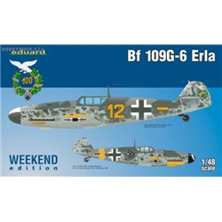 Bf 109G-6 Erla Weekend - 1/48 kit