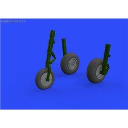 Me 262 wheels - 1/32 doplňkový set