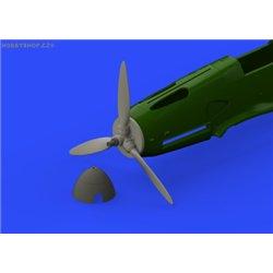 Bf 109F propeller EARLY - 1/48 doplňkový set