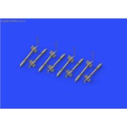FFAR rockets - 1/72 doplňkový set