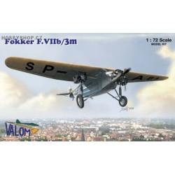 Fokker F.VIIb/3m - 1/72 kit