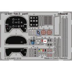 Yak-3 - 1/32 leptaný set